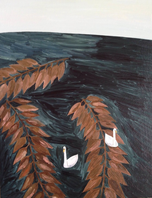 , 'on the sea,' 2015, Gallery Side 2