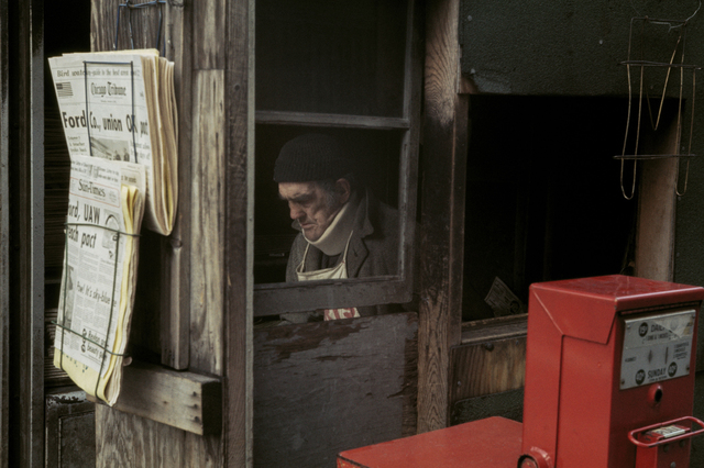 , 'Chicago, October,' 1976, Howard Greenberg Gallery