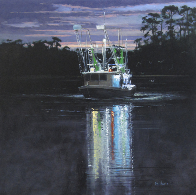 , 'Kimy's Bait Boat,' , LeMieux Galleries