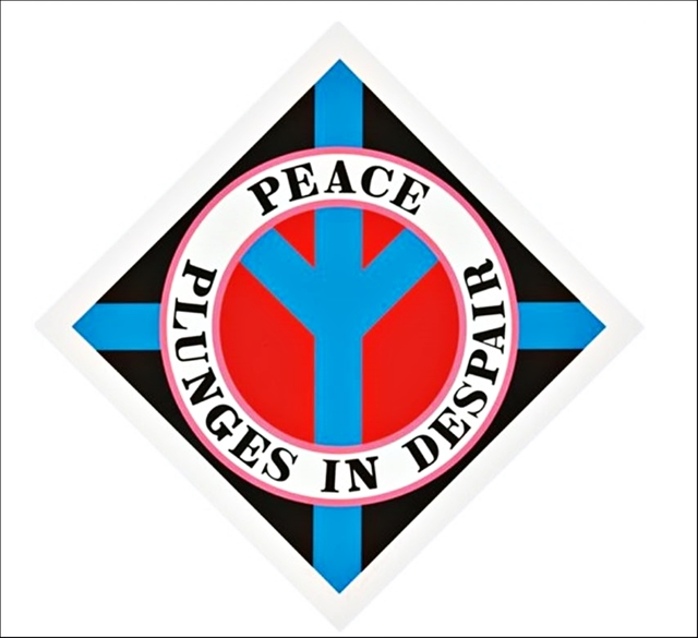 , 'Peace Plunges in Despair,' 2004, Alpha 137 Gallery