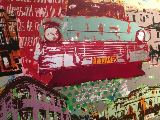 Karl Valve, 'Cuba colors close-up', 2017, Galleri Hera