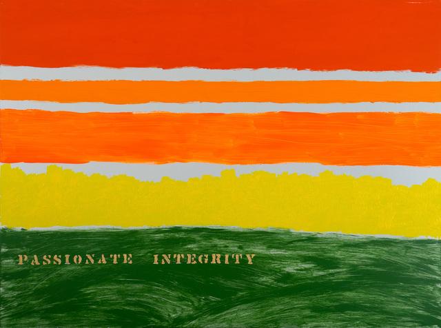 Edwin Schlossberg, 'Passionate Integrity', 2018, Ronald Feldman Gallery