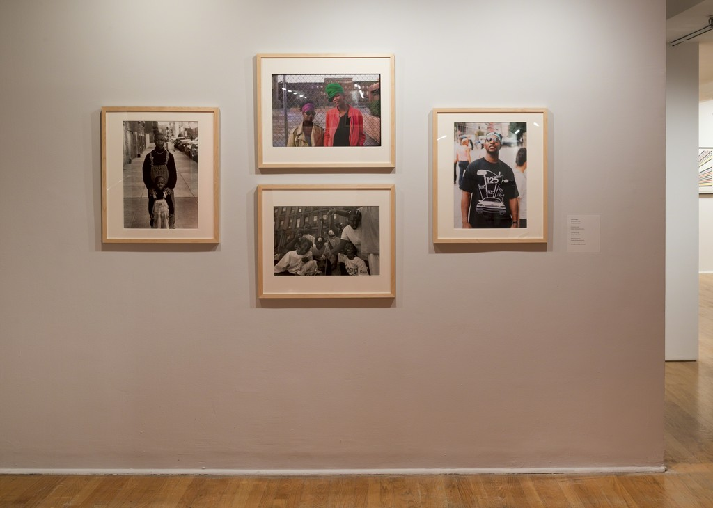 Jamel Shabazz: Crossing 125th (installation view). The Studio Museum in Harlem, April 20–August 27, 2017; Photo: Adam Reich