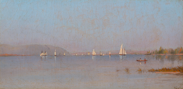 , 'Boating on the Hudson River,' , Questroyal Fine Art