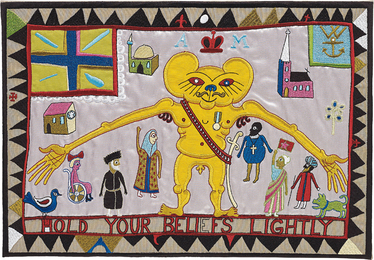 Grayson Perry, 'Hold Your Beliefs Lightly,' 2011, Phillips: Evening and Day Editions
