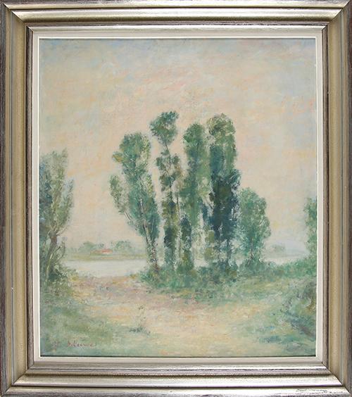 Walter Scheiwe, 'Niederrheinische Landschaft', ca. 1922, Sylvan Cole Gallery
