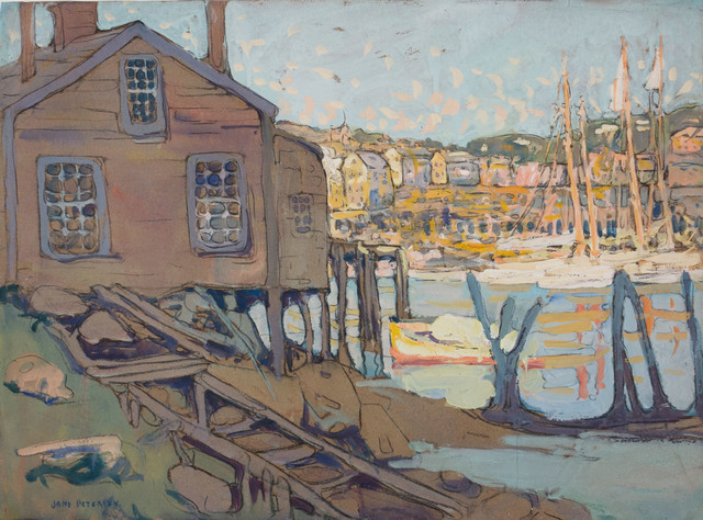 , 'Fisherman's Home, Gloucester Harbor,' , Vose Galleries
