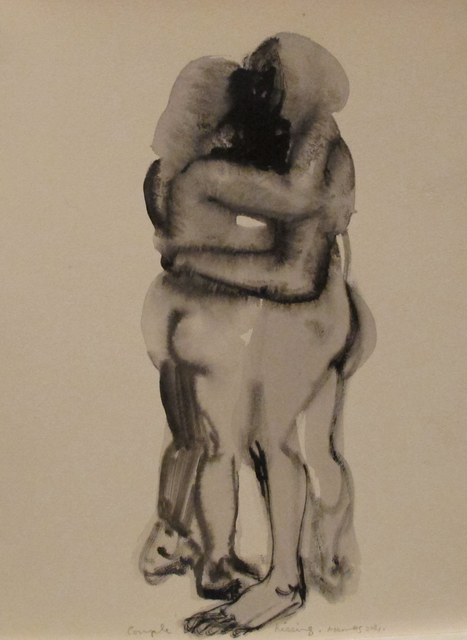 , 'Couple Kissing,' 2014, Frith Street Gallery