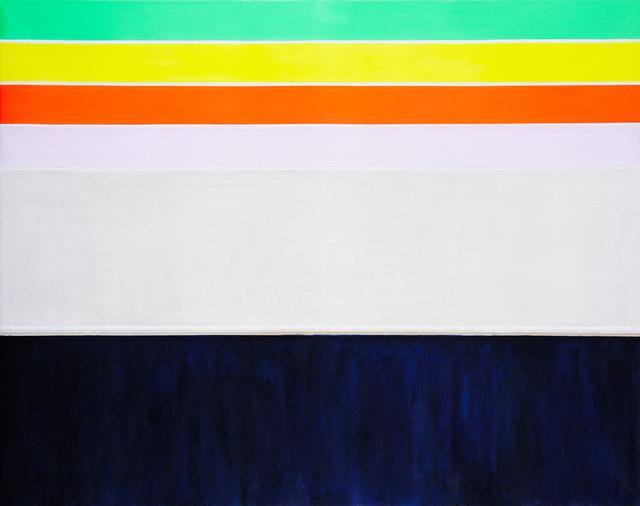 , 'Brights over Silver over Indigo,' 2018, Charles Nodrum Gallery