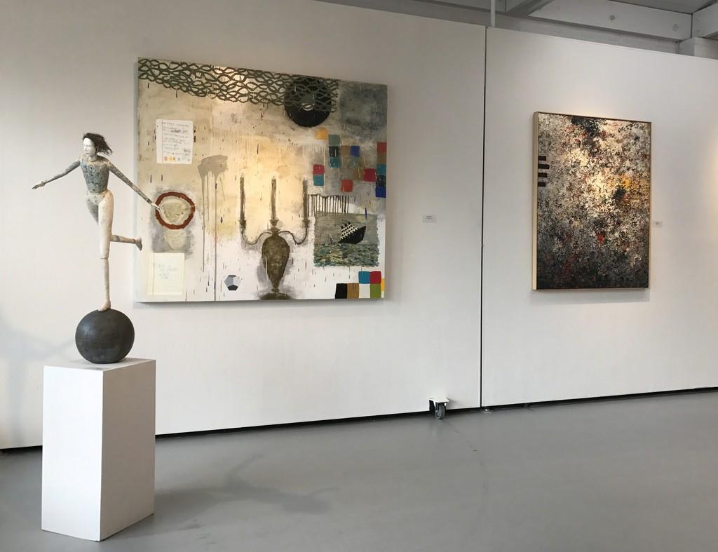 Cathy Rose, Squeak Carnwath & Charles Eckart in Gallery I