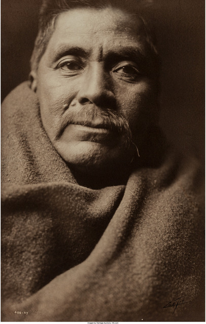 Edward Sheriff Curtis, 'Carlos Rios - Papago chief', Heritage Auctions