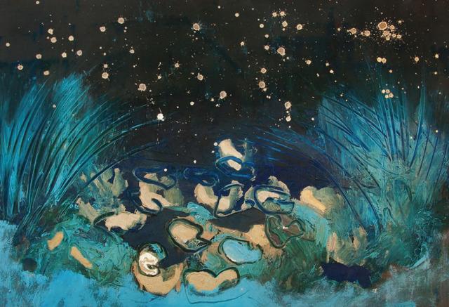 , 'Ninfee di notte,' 2016, Maddox Gallery