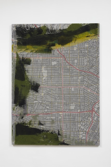 Sean Paul, 'Hollywood Dynamic Systems', 2015, Painting, Bobbinet, acrylic and acrylic polymer on canvas, Thomas Duncan Gallery