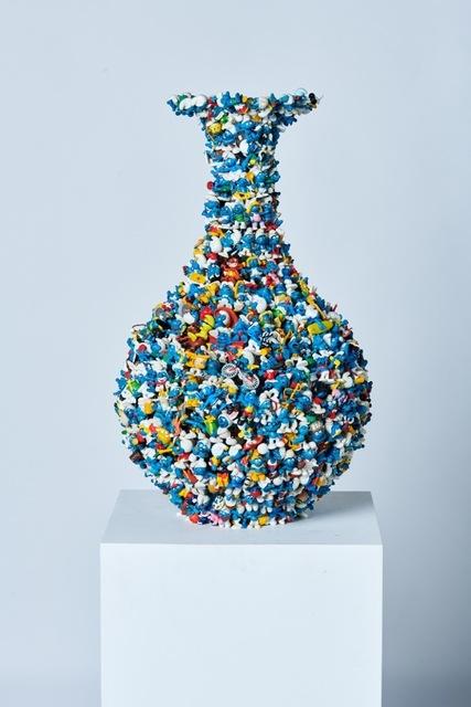 , '2nd Smurf Dynasty ming vase,' 2019, Rademakers Gallery