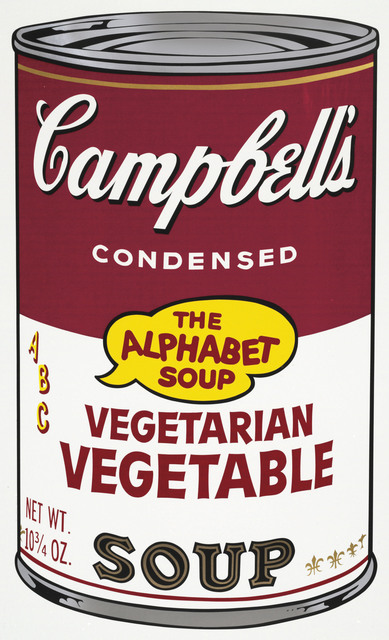 Andy Warhol, 'Vegetarian Vegetable, from Campbell's Soup II', 1969, Christie's
