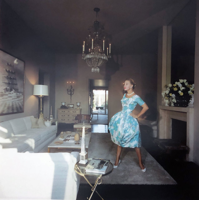 Slim Aarons, 'Lola Albright', 1960, IFAC Arts