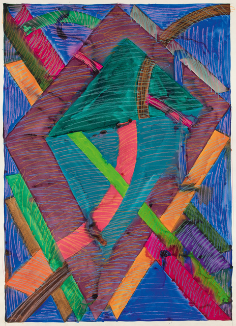 William T. Williams, 'Stray Cats (Drawing After Sophia Jackson L.A.M.F.)', 1970, Michael Rosenfeld Gallery