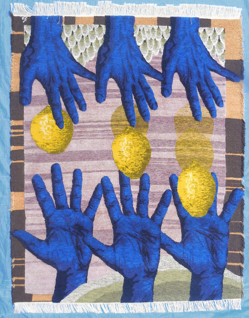 , 'Hands catching ,' 2017, MANIERA