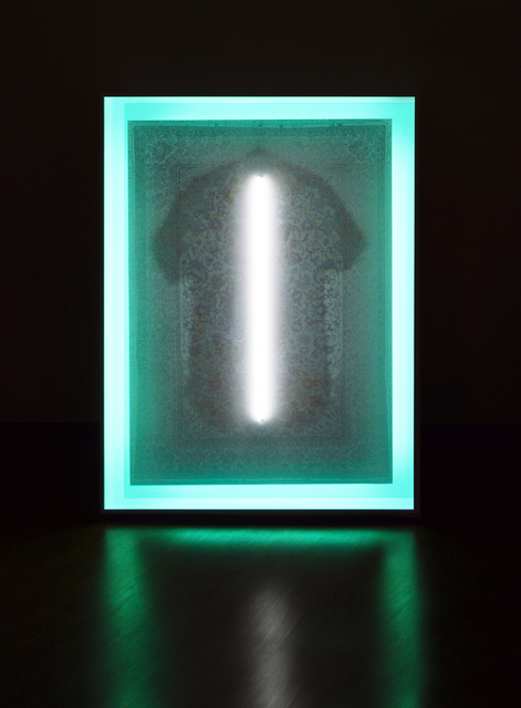 Stepan Ryabchenko, 'Gleam', 2011-2013, Installation, Digital print on aluminium, neon, ArtSvit