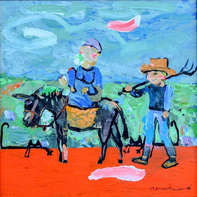 , '2-Greetings to Van Gogh,' 2017, Albareh Art Gallery