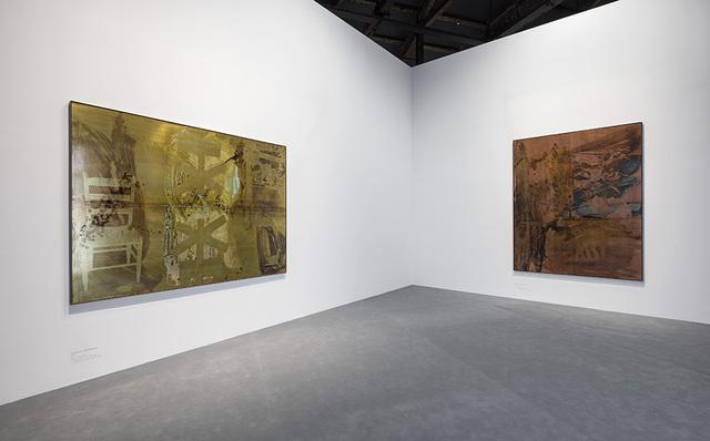 Robert Rauschenberg, 'Left: Courtyard (1989) Right: Catch (1993)', Faurschou Foundation
