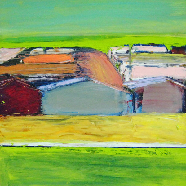 , 'Green Fields Suburbia,' 2011, Paraphé