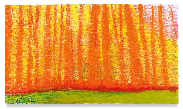 Wolf Kahn, 'On a Green Ground', 2019, Miles McEnery Gallery