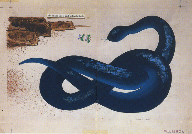 Bruno Munari, 'The Snake (Zoo)', 1962, LMAKgallery