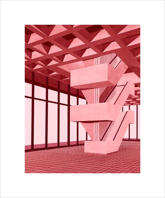 , 'Staircase,' 2017, Tempe Digital