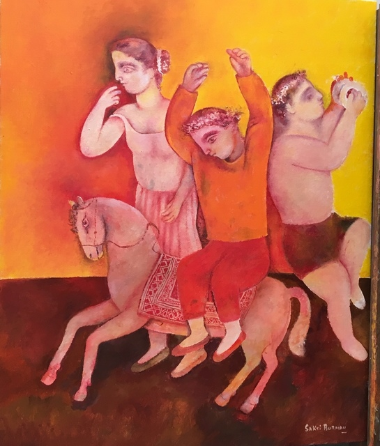 Sakti Burman, 'Celebration ', 2018, Arushi Arts