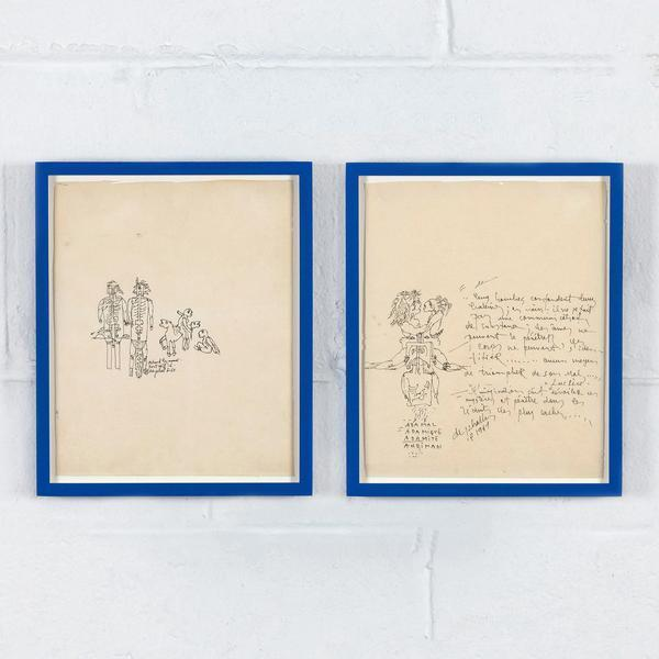 , 'Two Drawings,' 1967, Caviar20