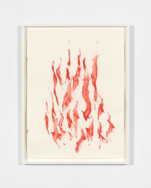 Beatrice Caracciolo, 'Fuoco rosso 3', 2012, Paula Cooper Gallery