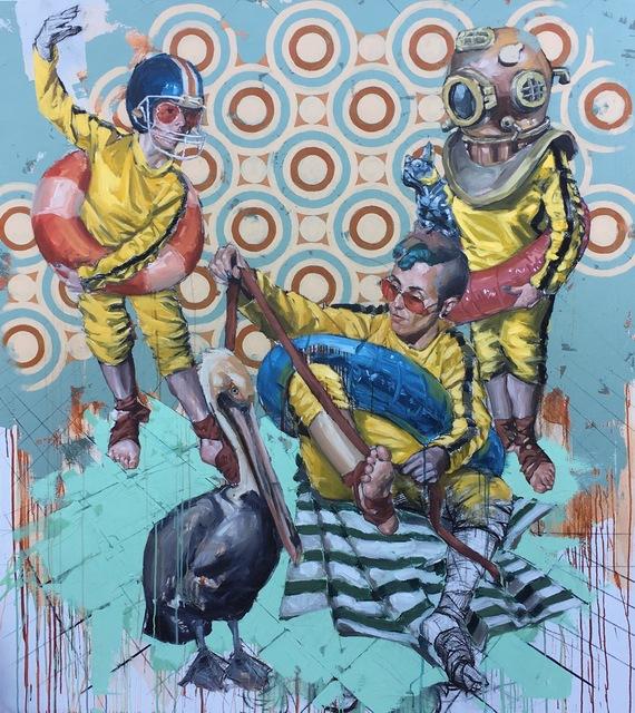 , 'Bruce Lee Shoes IX,' 2018, Cinnabar