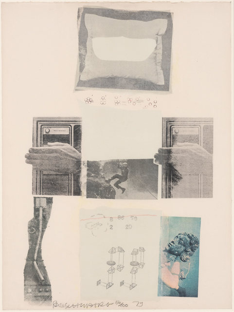 Robert Rauschenberg, 'TWO REASONS BIRDS SING', 1979, Doyle