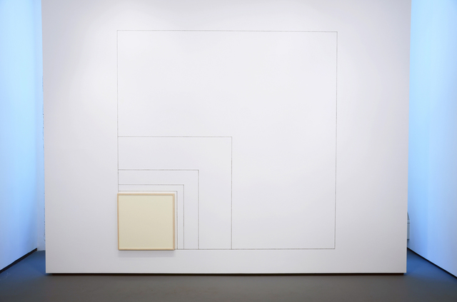 , 'Wall Work from the Measurements of a Progression to Infinity with 15°,' 1996-2014, Minus Space