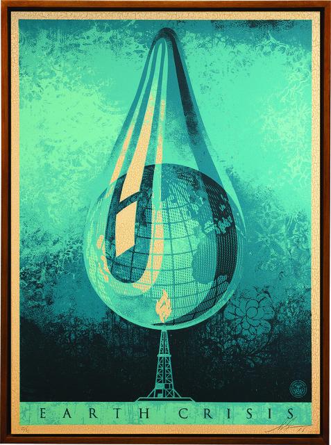 Shepard Fairey, 'Earth Crisis Drop', 2016, Underdogs Gallery
