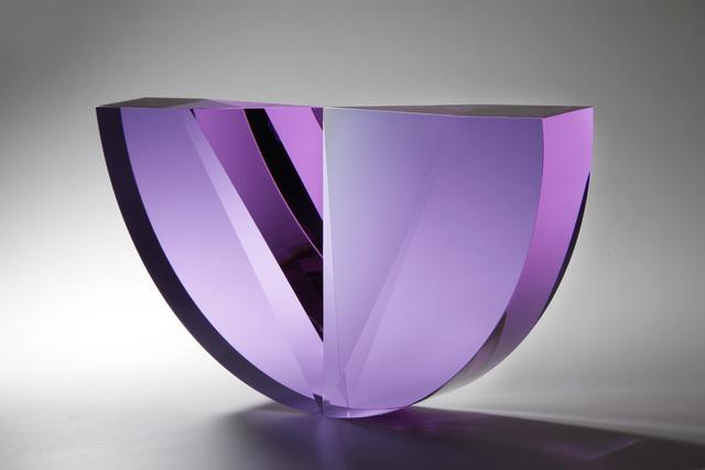 , 'Purple Tapered Semicircle,' 2018, Ai Bo Gallery