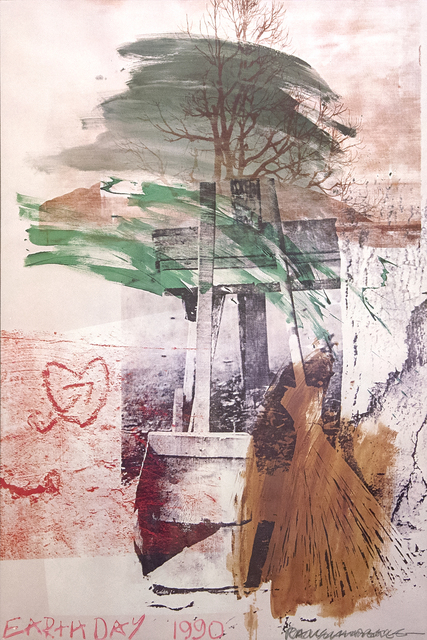 Robert Rauschenberg, 'Earth Day 1990', 1990, Heather James Fine Art: Benefit Auction 2019