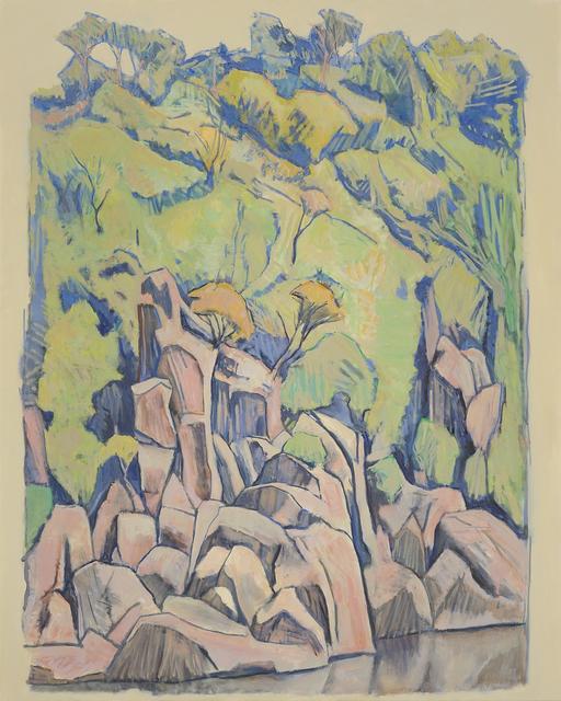 , 'Cataract Gorge Scroll Format 2,' 2016, Charles Nodrum Gallery