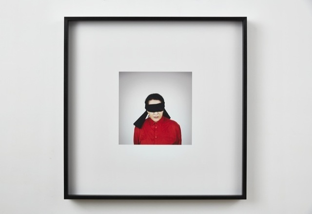 , 'Portrait with Blindfold,' 2014, Sean Kelly Gallery