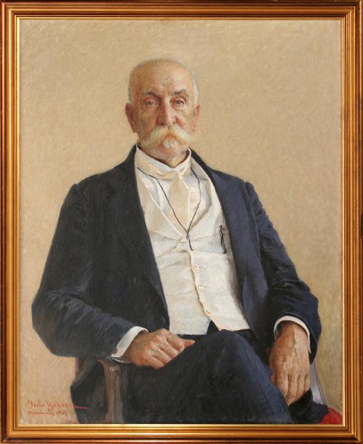 VLAHO BUKOVAC, 'Portrait of Pero Čingrija', 1907, Museum of Modern Art Dubrovnik