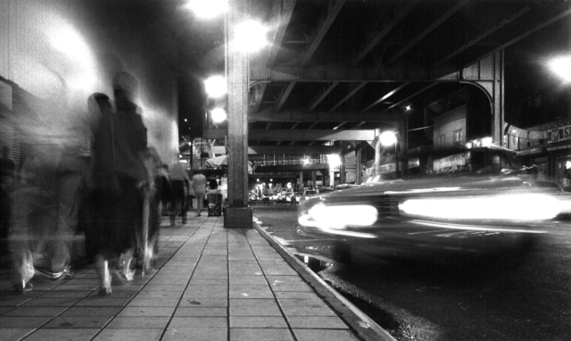 , 'Yankee Stadium Time Exposure,' 1986, Fountain House Gallery