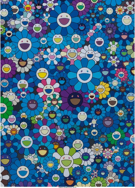 Takashi Murakami, 'An Homage to IKB 1957 C', 2012, Heritage Auctions