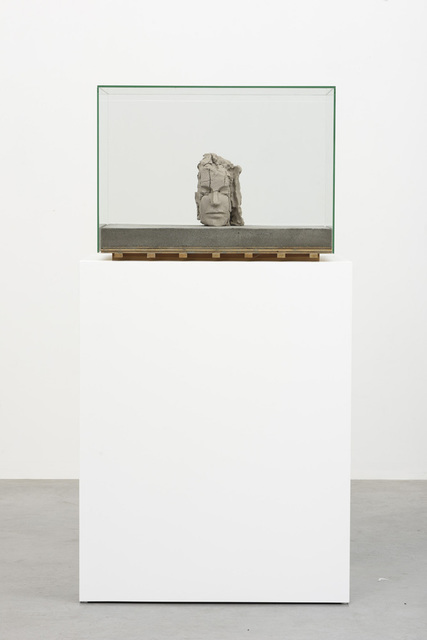 , 'Dry Clay Head on Concrete Floor,' 2015, Zeno X Gallery