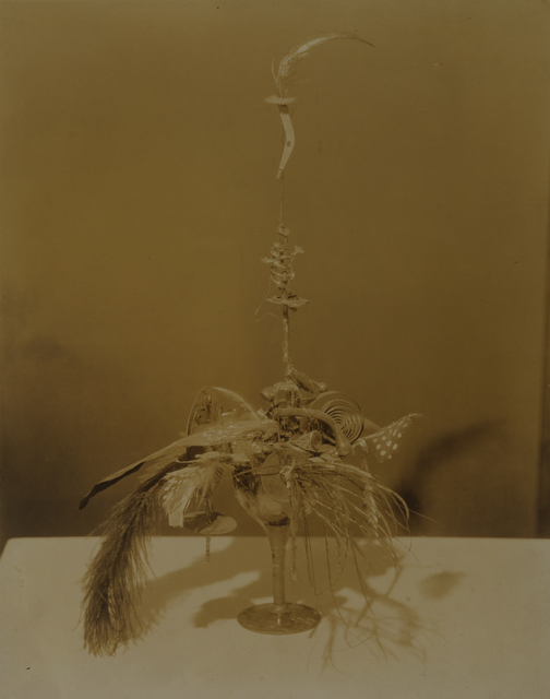 ", 'Baroness Elsa's ""Portrait of Duchamp"",' ca. 1920, Bowdoin College Museum of Art"