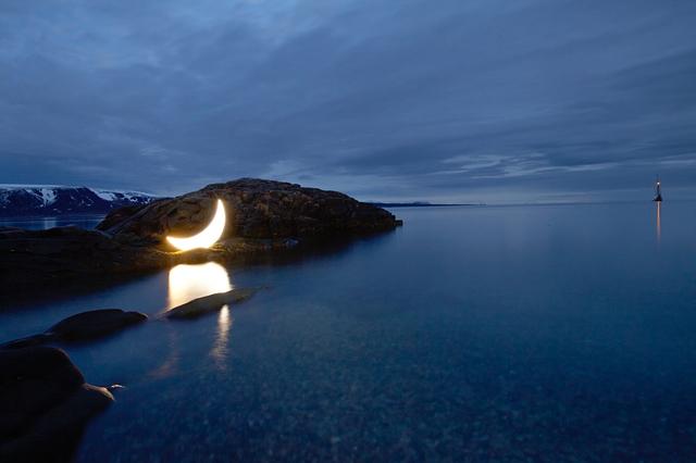 Leonid Tishkov, 'Private Moon in the Arctic', 2010, Galerıe Blue Square