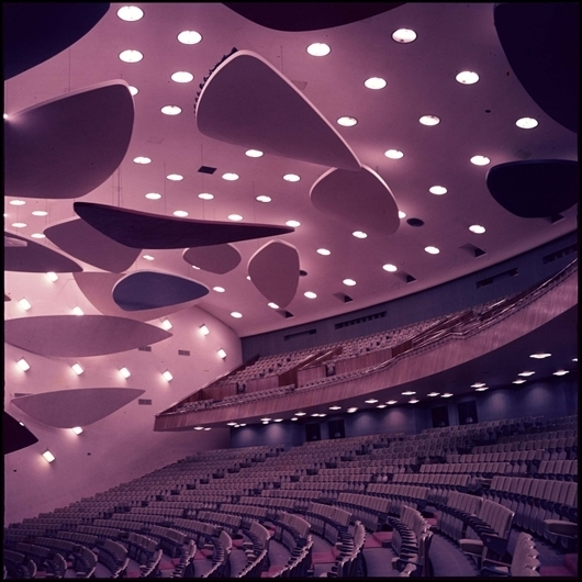 , 'Architect Carlos Villanueva in Collaboration with Alexander Calder, Aula Magna Auditorium, Ciudad Universitaria de Caracas, 1954, From the series Modern Entanglements, U.S. Interventions, 2006-2009,' 1963, Mana Contemporary