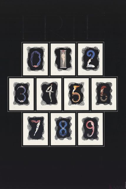 Erté (Romain de Tirtoff), 'Numbers', 1981, ArtWise