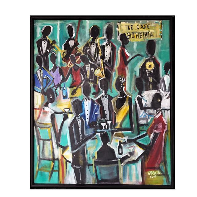 , 'Le Cafe Bohemia,' 2016, Gallery 38