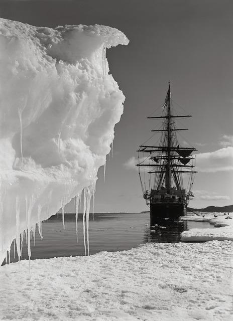 Herbert George Ponting, 'The Terra Nova and a berg at ice-foot,', 16, Atlas Gallery